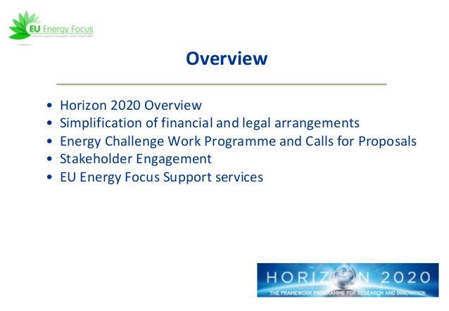 CCS in H2020: Overview, Lessons Learned and Next Steps - webinar host…