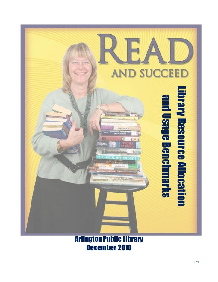 29Library Resource Allocation  and Usage Benchmarks                              Arlington Public Library                 ...