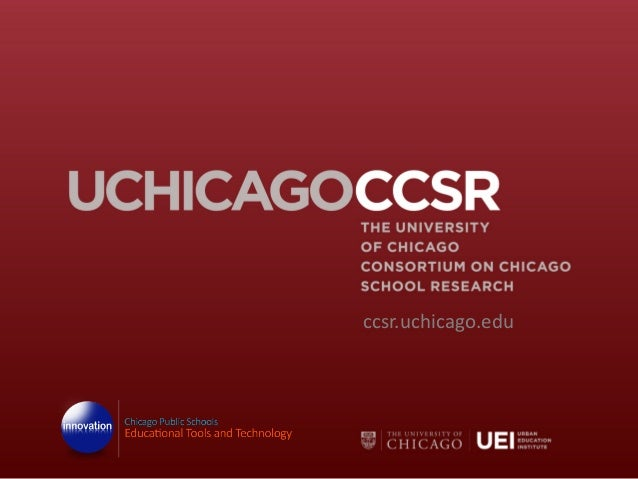 ccsr.uchicago.edu