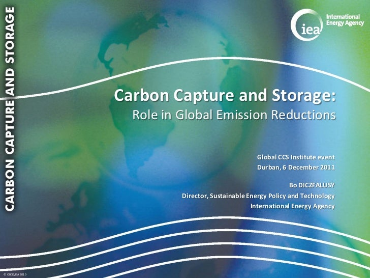 Carbon Capture and Storage:                    Role in Global Emission Reductions                                         ...