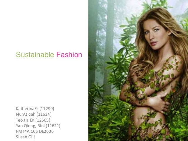 research on sustainable fashion