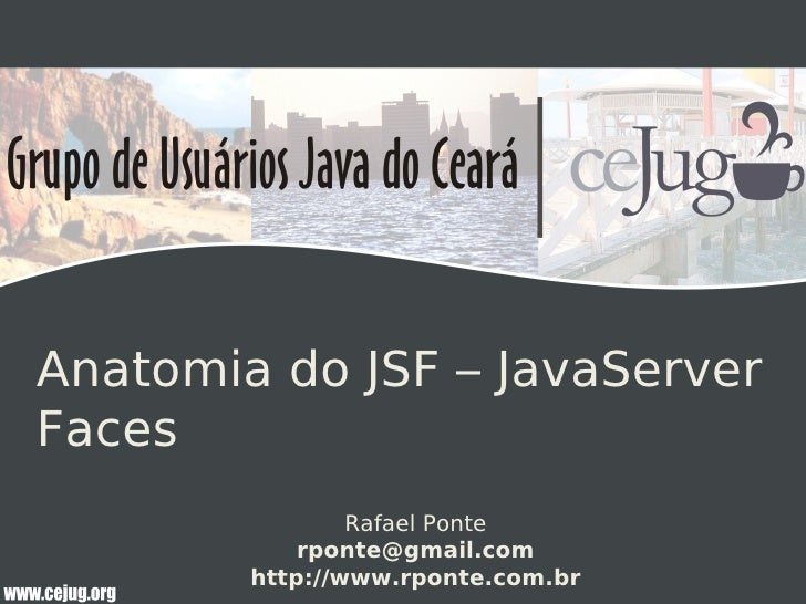 Anatomia do JSF – JavaServer Faces