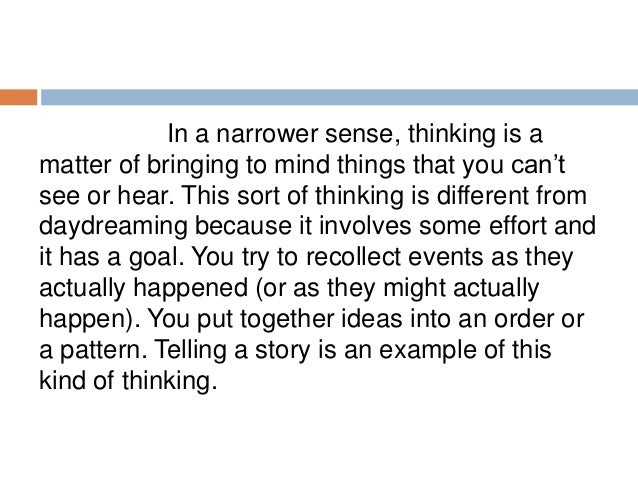 CHAPTER   What Is Critical Thinking
