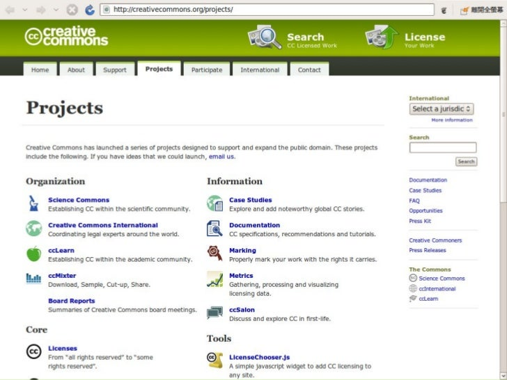 Creative Commons 技術議題概覽 Slide 3