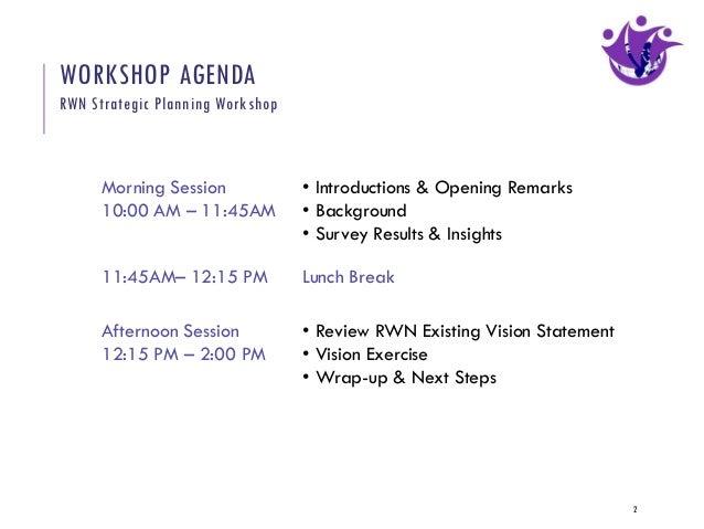 Strategic Planning Workshop for Refugee Women's Network