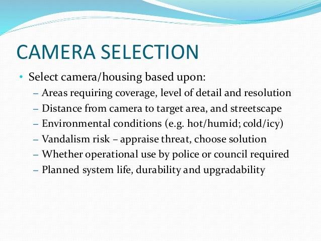 CCTV Presentation Corporate Services