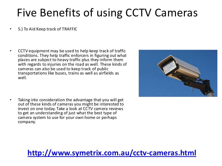 benefits of security cameras in public places