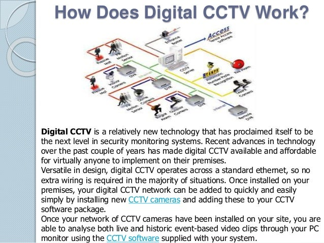 How Does Digital CCTV Work?  Digital CCTV is a relatively new technology that has proclaimed itself to be  the next level ...