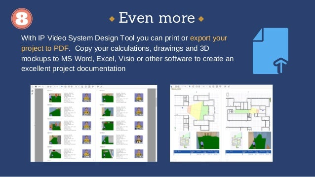 Cctv design software ip video system design tool for Cctv layout software