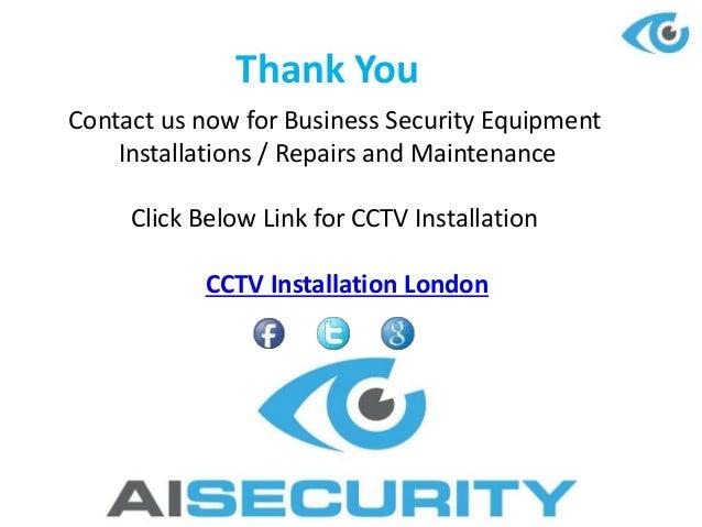 Cctv Installation And Maintenance Company London