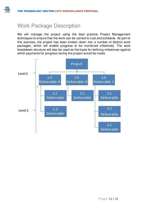 Cctv technical proposal