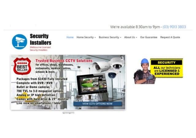 Cctv security installers
