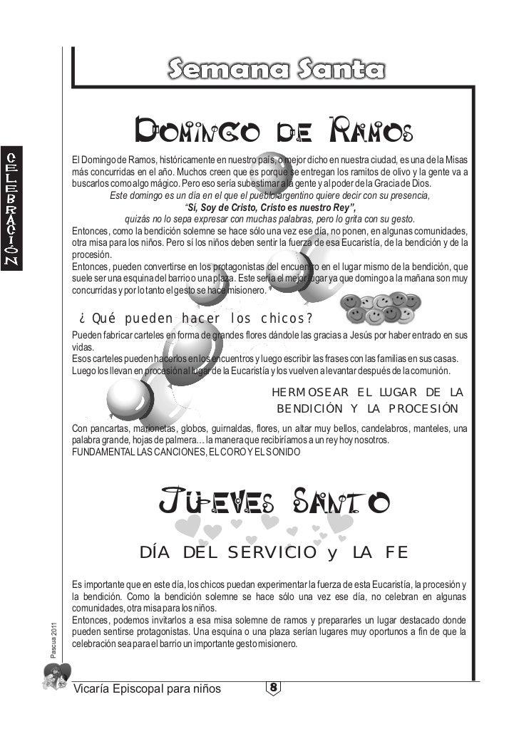Domingo de Ramos              El Domingo de Ramos, históricamente en nuestro país, o mejor dicho en nuestra ciudad, es una...