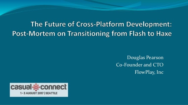 Douglas Pearson Co-Founder and CTO FlowPlay, Inc