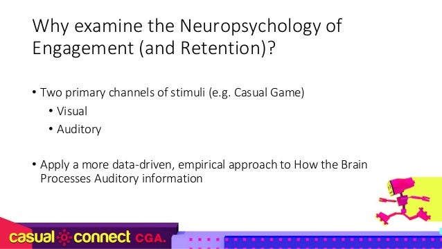 The Neuropsychology of Engagement – An Audio Perspective