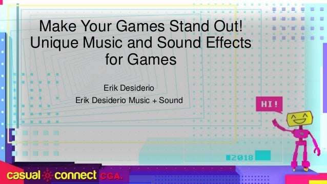 Make Your Game Stand Out! Unique Music & Sound Effects for
