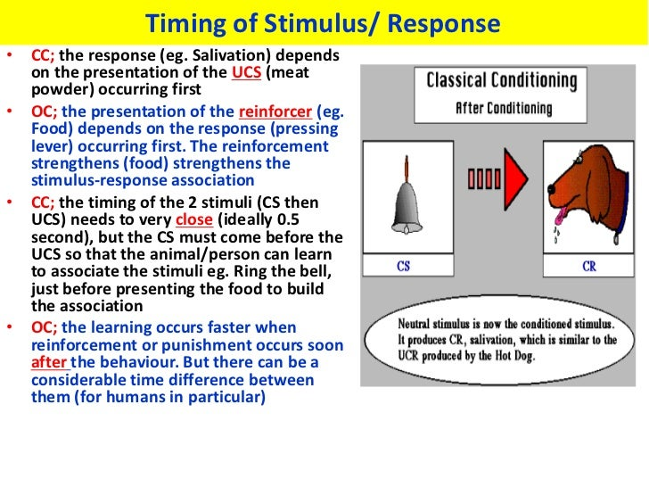 classical vs operant conditioning Classical conditioning operant conditioning these forms of conditioning learning have both similarities and differences  about classical vs operant conditioning.