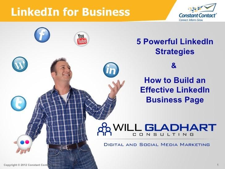 LinkedIn for Business                                          5 Powerful LinkedIn                                        ...