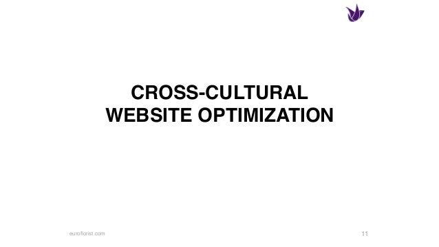 euroflorist.com CROSS-CULTURAL WEBSITE OPTIMIZATION 11