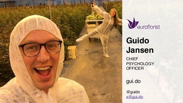 www.bestppt.com Guido Jansen CHIEF PSYCHOLOGY OFFICER gui.do @guido x@gui.do