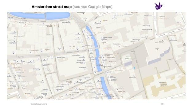 euroflorist.com Japanese street map (source: Google Maps) 41
