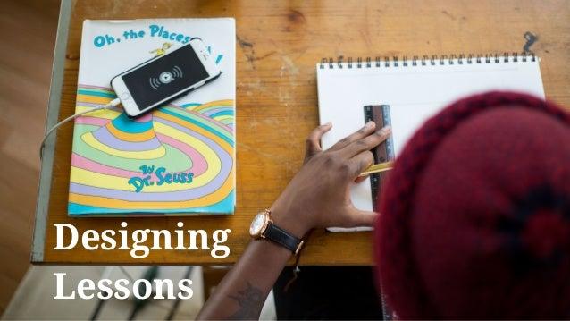 Designing Lessons
