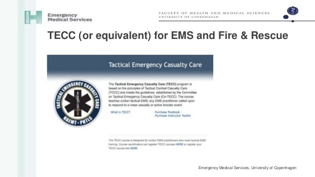 TEMS - Tactical Emergency Medical Services