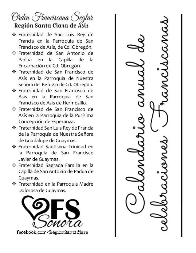 Calendario Santos.Calendario Santos