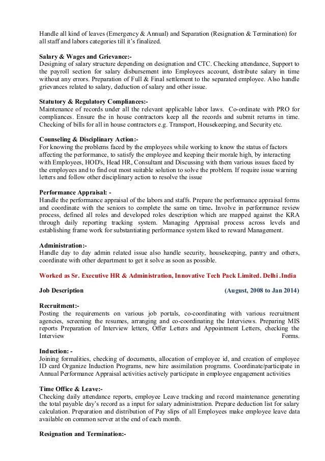 Imran Latest CV