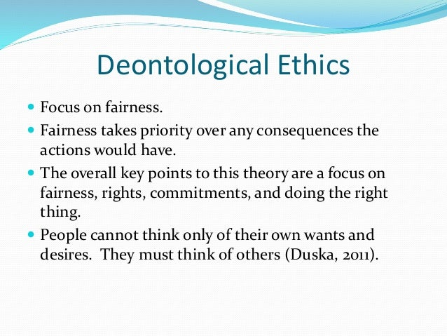 Ethical egoism is