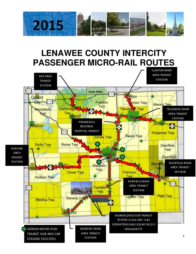 LENAWEE COUNTY INTERCITY PENGER MICRO-RAIL MAP REV1 on map of missaukee county, map of aquinas, map of iron river, map of st. peter, map of caro, map of boyne falls, map of dilworth, map of olivet, map of brethren, map of pinconning, map of lenawee county, map of excelsior springs, map of ohio wesleyan, map of pelican rapids, map of alex, map of siena heights university, map of vassar, map of bates county, map of eastpointe, map of norwood young america,