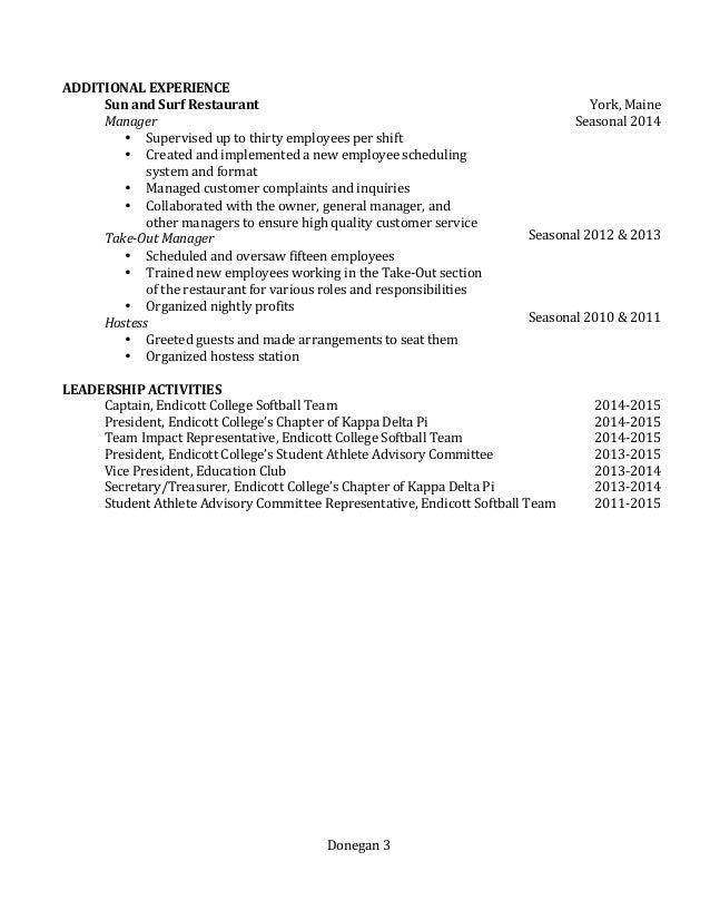 Meaghan E. Donegan's Resume Slide 3