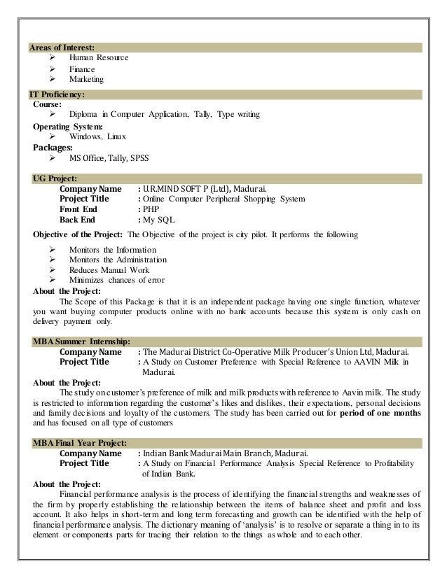 interest area in resume resume example 2018