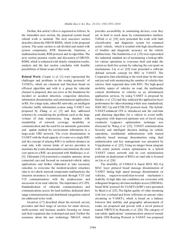 Middle-East J. Sci. Res., 24 (11): 3542-3553, 2016 3544 Further, this article's flow is organized as follows. In provides ...