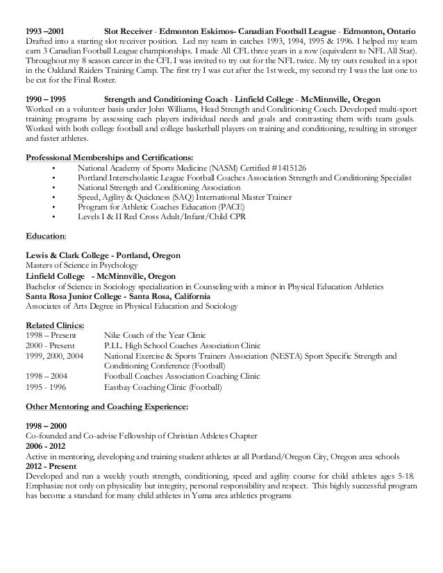 stunning head football coach resume ideas resume samples