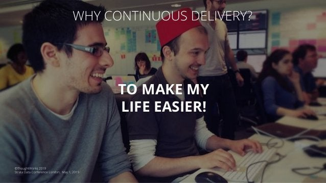 Continuous Delivery isn't a technology or a tool; it is a practice and a set of principles. Quality is built into software...