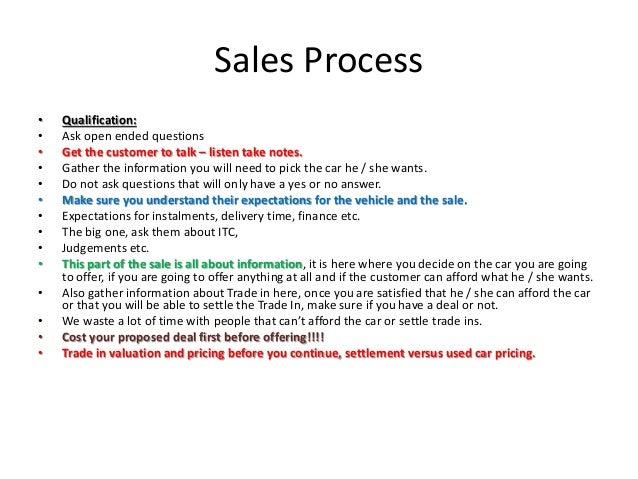 Sales Process Training