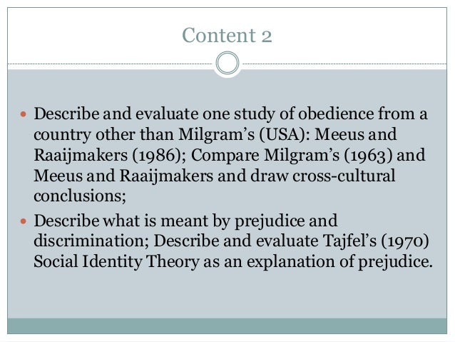 describe and evaluate milgrams agency theory Describe agency theory using appropriate terminology evaluate agency theory using the theory is very vague in many ways milgram is not clear with regard to.