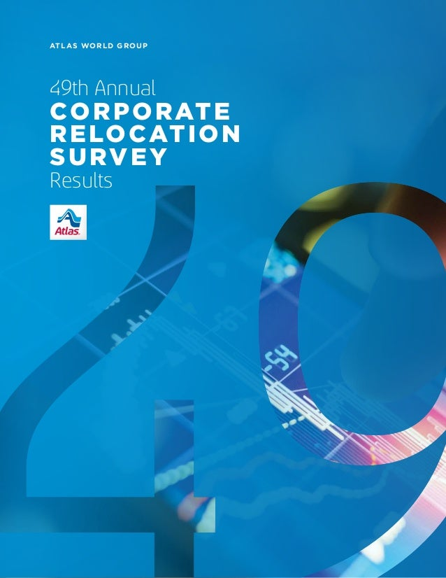 ATLAS WORLD GROUP 49th Annual CORPORATE RELOCATION SURVEY Results