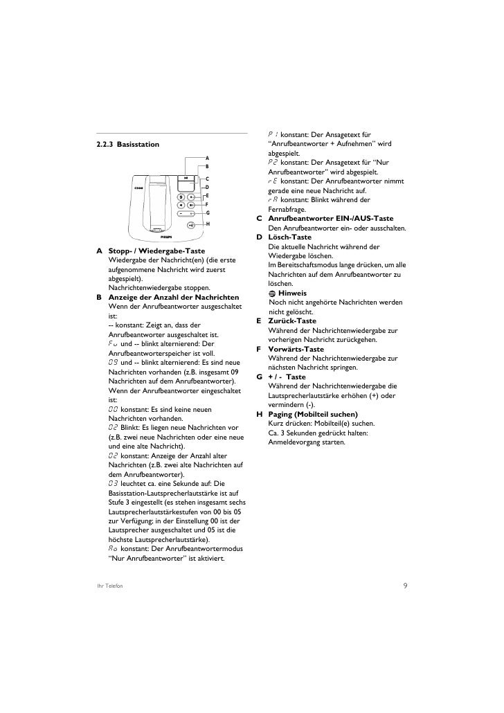 PHILIPS CD 645 USER MANUALS
