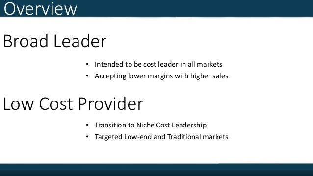 capstone capsim broad cost leader Capsim - team 2c, chester ken nguyen christina williams stella ngan   executive summary our goal was to adopt a broad cost leader.