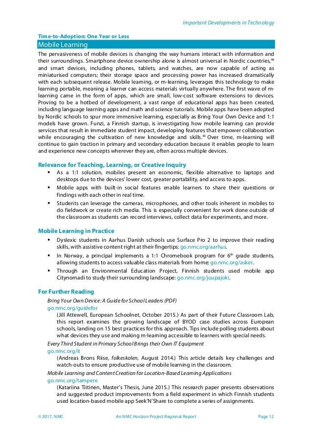 Modular Classroom Observations ~ Nmc technology outlook nordic schools en