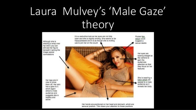 Laura Mulvey's 'Male Gaze' theory