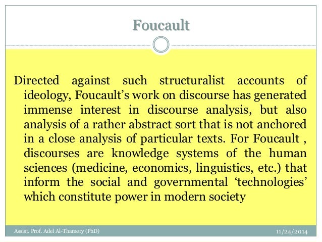 an analysis of the foucault and truffaut in the power and social control in french society Michel foucault and power whether in the factory, schools, barracks, power must control the activity the analysis of power relations as a set of reversible.