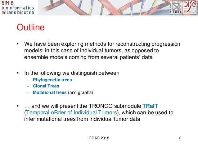 Cdac 2018 antoniotti cancer evolution trait Slide 2