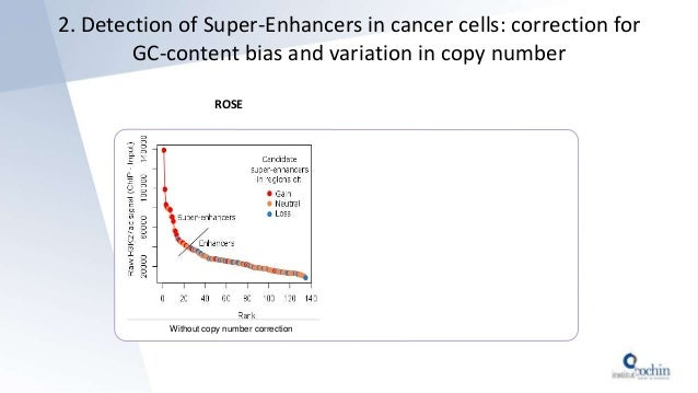 ROSE 2. Detection of Super-Enhancers in cancer cells: correction for GC-content bias and variation in copy number Without ...