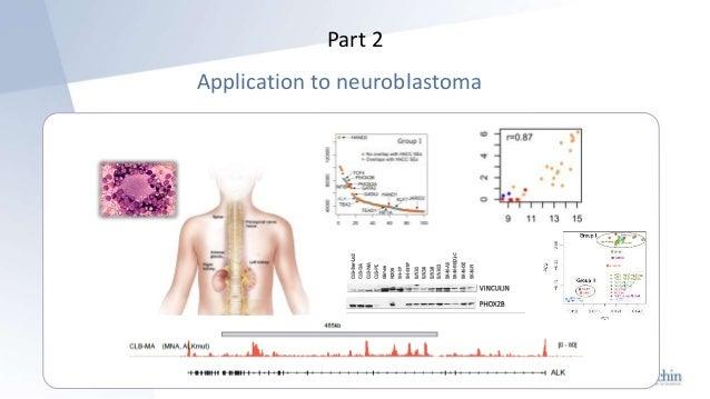 Part 2 Application to neuroblastoma