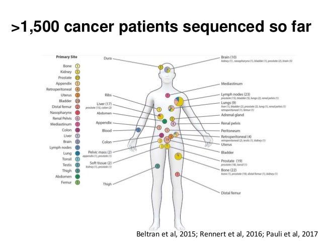 Beltran et al, 2015; Rennert et al, 2016; Pauli et al, 2017 >1,500 cancer patients sequenced so far