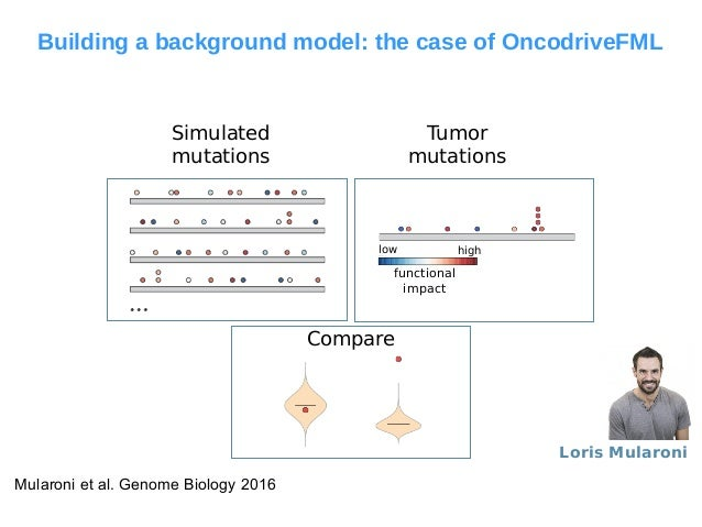 OncodriveFML identifes non-coding regions with driver mutations Low grade glioma (18 samples) - Promoter Bladder Urotelial...
