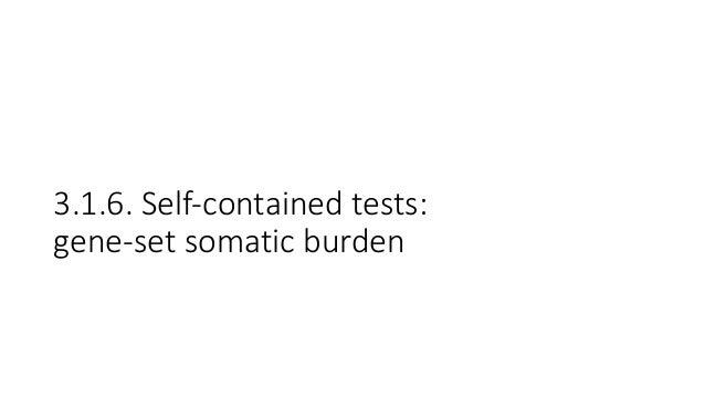 OICRPanCuRx:Gene-setAnalysisStrategy 1. Performgene-setburdentest,primariesvsmetastases • Logisticregression(m...